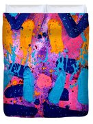 Abstract 10316 - Cropped Duvet Cover