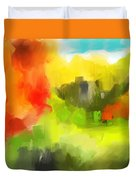 Abstract 112210 Duvet Cover