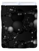 Abstract 119 Bw Duvet Cover