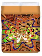 Abstract #1859drawpc Duvet Cover