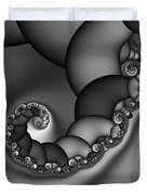 Abstract 210 Bw Duvet Cover