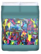 Abstract 213 Duvet Cover by Patrick J Murphy