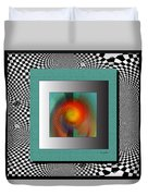 Abstract 2612 Duvet Cover