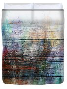 2e Abstract Expressionism Digital Painting Duvet Cover