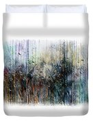 2f Abstract Expressionism Digital Painting Duvet Cover