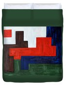 Abstract 343 Duvet Cover
