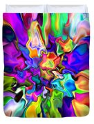 Abstract 373 Duvet Cover