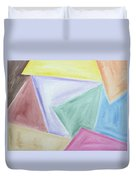 Abstract 437 Duvet Cover