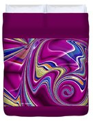 Abstract #49 Duvet Cover