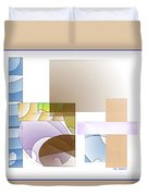 Abstract #503 Duvet Cover