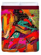 Abstract 508 Duvet Cover