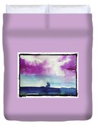 Purple Sky's  Duvet Cover