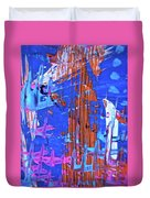 Abstract 6499 Duvet Cover