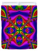 Abstract 663 Duvet Cover