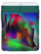 Abstract 7690 Duvet Cover