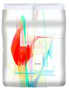 Abstract 9507 Duvet Cover