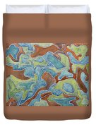 Abstract 972 Duvet Cover
