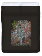 Abstract And Lichen Duvet Cover
