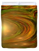 Abstract Art -the Core By Rgiada Duvet Cover