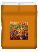 Abstract Autumn IIi Duvet Cover