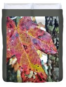 Abstract Autumn Leaf 2 Duvet Cover