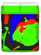 Abstract Baby Apple Duvet Cover