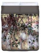 Abstract Birch Duvet Cover