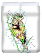 Abstract Bird 01 Duvet Cover