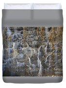 Abstract Bleeding Concrete Duvet Cover