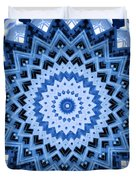 Abstract Blue 17 Duvet Cover