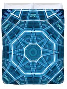 Abstract Blue 18 Duvet Cover