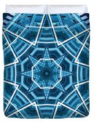 Abstract Blue 19 Duvet Cover