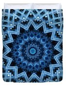 Abstract Blue 30 Duvet Cover