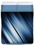 Abstract Blurred Dark Blue  Background Duvet Cover