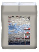 Abstract Brick 2 Duvet Cover