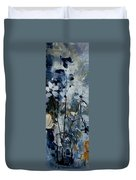 Abstract Bunch Of Flowers  Duvet Cover