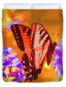 Abstract Butterfly Duvet Cover