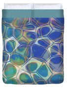 Abstract Cells 5 Duvet Cover