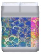 Abstract Cells 6 Duvet Cover