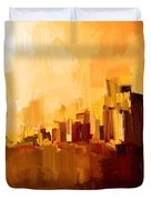 Abstract City Duvet Cover