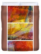 Abstract Collage No. 4 Duvet Cover