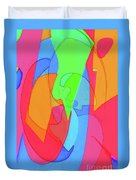 Abstract Color Block  Duvet Cover