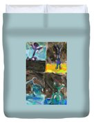 Abstract Color Combination Series - No 9 Duvet Cover