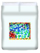 Abstract Colors. Duvet Cover
