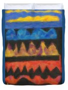 Abstract Combination Of Colors No 4 Duvet Cover