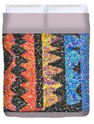 Abstract Combination Of Colors No 6 Duvet Cover