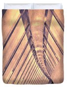 Abstract Corridor Architecture Duvet Cover