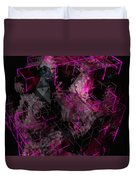 Abstract Crystal - Cg Render Duvet Cover