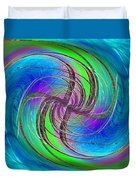 Abstract Cubed 261 Duvet Cover
