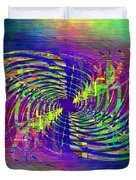 Abstract Cubed 298 Duvet Cover